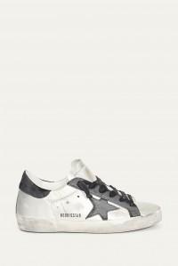 Sneakers Superstar Silver Black Leather