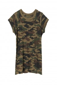 Short Sleeve Baseball Tee Camo