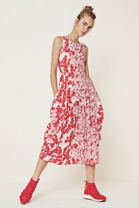 At Length Floral Dress