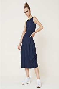 At Length Dress Navy