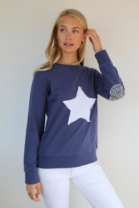 Leopard Star Windy Navy