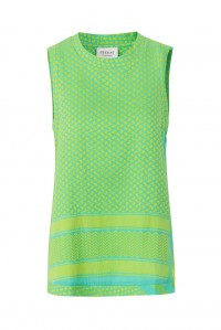 Shirt O No Sleeve Pistacie Lime