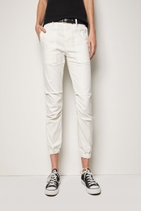 Cropped Military Pant Eggshell