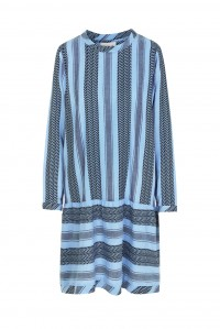 Dress 2 O Long Sleeve Cloud Blue