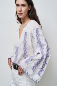 Palestinian Anna Embroidered Blouse
