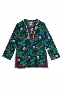 New Annalisa Tiger Coconut Tunic