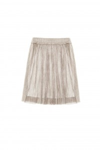 Benedicte Skirt Metallic Beige