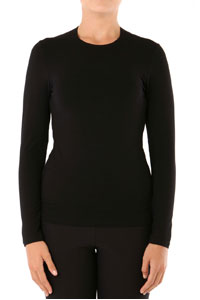 SLIM FIT LONG SLEEVE CREW NECK TOP