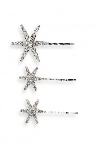 Aurelia 3 Set Bobby Pins Crystal