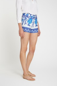 Shorts Winter Garden Print