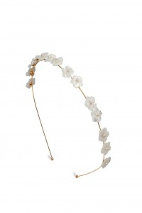 Marika Headband Gold Mother of Pearl
