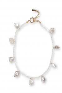 Dramman Necklace Pearl