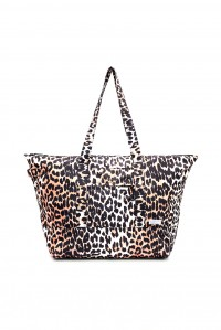 Leopard Packable Tote