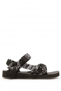 Handmade Trekky Sandals Black