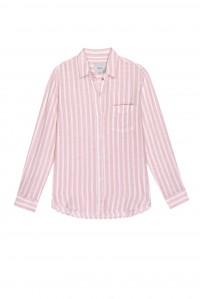 Charli Shirt Amaranth Stripe