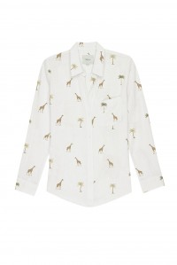 Charli Linen Shirt Safari