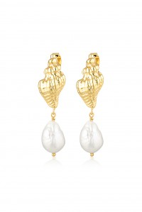 Capri Baroque Pearl Earrings