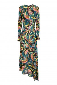 Pina Dress Windy Flowers