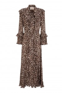 Long Fancy Dress Leopard