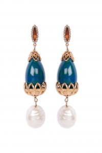Medici Earrings Turchese