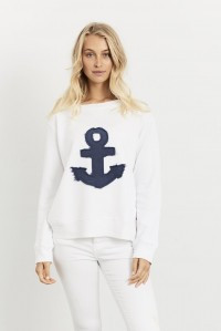 Frayed Anchor Windy White