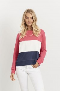 Frayed Stripe Windy Nautical