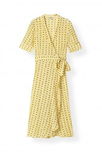 Maize Wrap Dress