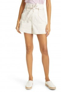 The Field Cargo Short Ecru