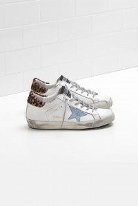 Sneakers Superstar White Leopard Cloud