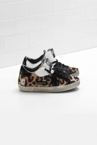 Superstar Leopard Patch Black Star