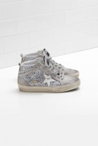 Sneakers Mid Star Silver Glitter