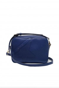 Star Bag Royal Blue Leather