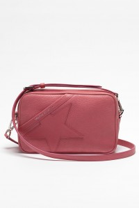 Star Bag Pink Grained Leather