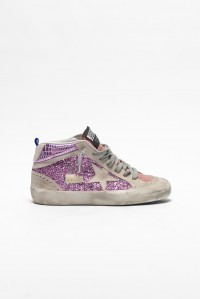 Sneakers Mid Star Pink Glitter Cocco Ice Star