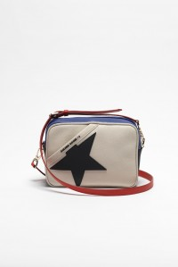 PRE-ORDER Star Bag Nude with Blue Red Black