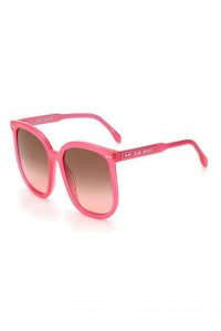 Oversized Neon Pink Sunglasses