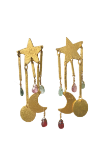 Caitlin Star, Moon and Planets Earrings