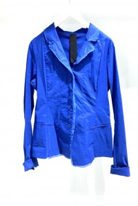 Cotton Jacket Cobalt