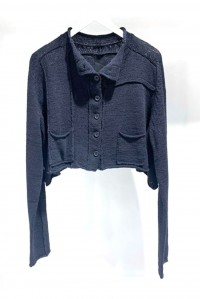 Cotton Cardigan Black