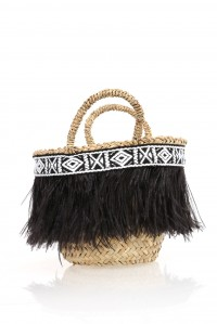 Metopa Small Feathered Bag