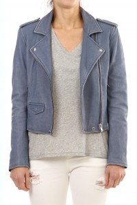 Ashville Leather Jacket Lavender