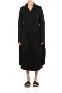 Cotton Oversized Pocket Coat
