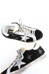 Sneakers superstar black horsey silverstar