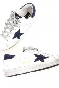 Sneakers superstar white navy star