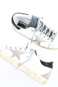 Sneakers superstar white cosmic Swarovski