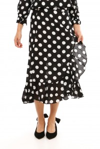 Gracie poka dot dress