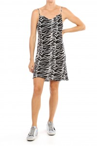 Twiggy Dress 80s Tiger