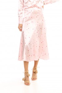 Blakely Silk Skirt Mary's Rose