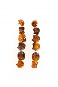 Leo Earrings Natural