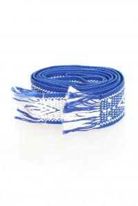 Royal Blue Diamond Belt